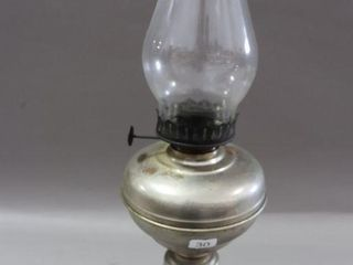 METAl OIl lAMP WITH CHIMNEY   20 H