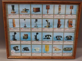 TElEPHONE DISPlAY PICTURE   21 W X 17 H