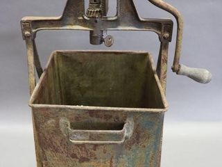 METAl BUTTER CHURN   MISSING MIXER UNIT