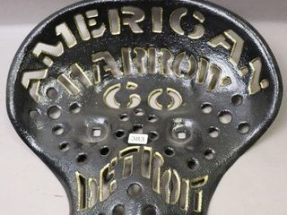AMERICAN HARROW CO  DETROIT CAST IMPlEMENT