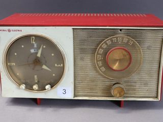 GENERAL ELECTRIC VINTAGE RADIO