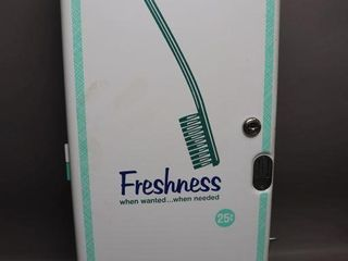 TOOTHBRUSH DISPENSER   10  X 25  H   NO KEY