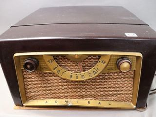 ADMIRAl RADIO RECORD PlAYER