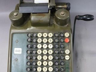 BURROUGHS HAND ADDING MACHINE
