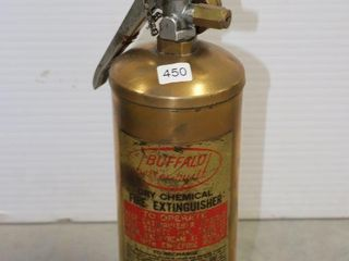 BUFFAlO DRY CHEMICAl FIRE EXTINGUISHER