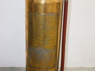lA FRANCE SODA ACID BRASS FIRE EXTINGUISHER 23