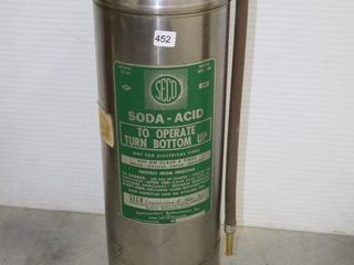 SECO SODA ACID MODEl 20 SS FIRE EXTINGUISHER