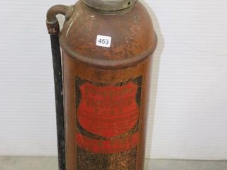 lA FRANCE FOAMY COPPER FIRE EXTINGUISHER 24