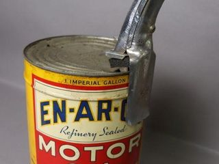 EN AR CO OIl 1 IMP GAl OIl CAN WITH SPOUT