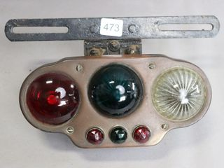 lICENCE PlATE TAIl lIGHT UNIT