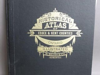 HISTORICAl ATlAS OF ESSEX   KENT COUNTIES