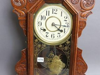 NEW HAVEN GINGERBREAD ClOCK   WITH KEY
