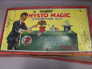 GIlBERT MYSTO MAGIC ECHIBITION SET