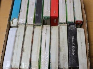 BOX OF ASSORTED 8 TRACKS