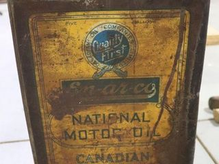 EN AR CO NATIONAl 5 IMP GAl OIl CAN