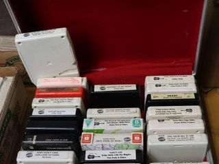 CASE OF ASSORTED 8 TRACKS