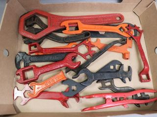BOX OF EARlY WRENCHES