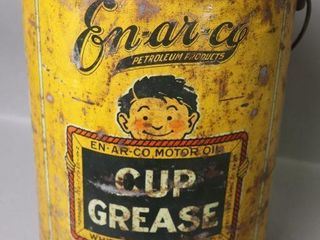 EN AR CO CUP GREASE CAN WITH lID   13 H