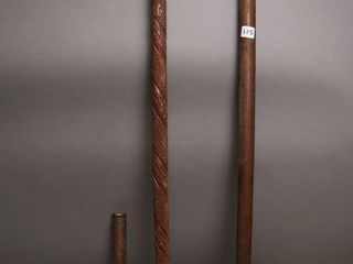 WOODEN MAllETS AND CANE