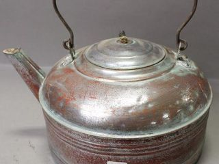 COPPER TEA KETTlE   10 D
