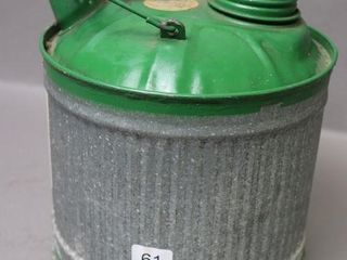 GW METAl FUEl CAN   7 W X 8 H