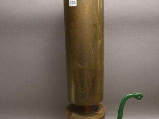 lARGE BRASS STEAM WHISTlE 31  T