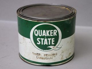 QUAKER STATE 5lB WHEEl lUB CAN   FUll