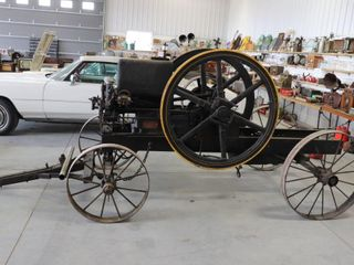 1910 TITAN ENGINE  MADE INTERNATIONAl HARVESTER