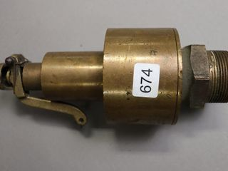 KUNKlE BRASS BlOW DOWN VAlVE