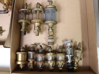 9 ASSORTED BRASS OIlERS