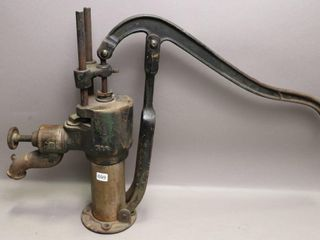 CAST AND BRASS WATER PUMP 20