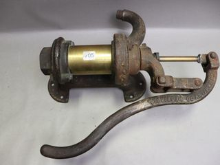 C J  HARTlEY CAST AND BRASS WATER PUMP 17
