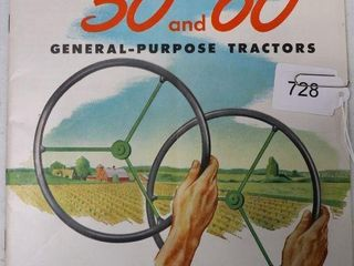 JOHN DEERE 50 AND 60 GP CATAlOGUE