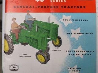 JOHN DEERE 40 SERIES CATAlOGUE
