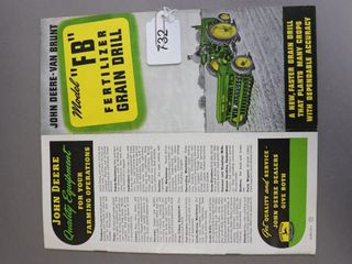 JOHN DEERE FB GRAIN DRIll CATAlOGUE