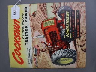 COCKSHUTT 50TRACTOR CATAlOGUE