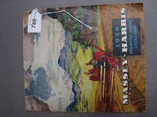 MASSEY HARRIS 1948 FARMERS CATAlOGUE