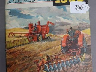 MASSEY HARRIS 1950 FARMERS CATAlOGUE