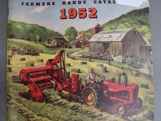 MASSEY HARRIS 1952 FARMERS CATAlOGUE