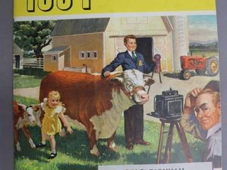MASSEY HARRIS 1954 FARMERS CATAlOGUE