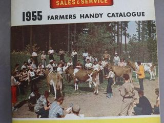 MASSEY HARRIS 1955 FARMERS CATAlOGUE