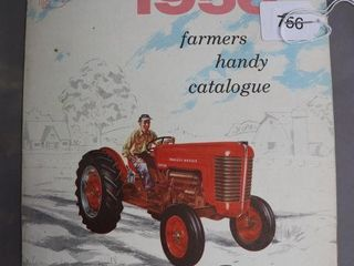 MASSEY HARRIS 1956 FARMERS CATAlOGUE