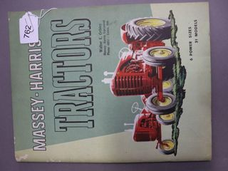 MASSEY HARRIS TRACTORS CATAlOGUE