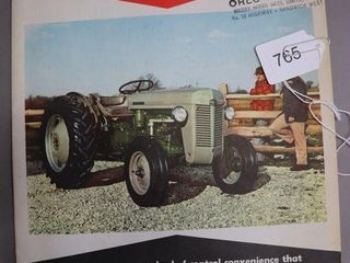 MASSEY FERGUSON 35 TRACTOR CATAlOGUE