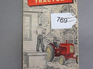 THE NEW COCKSHUTT  30  TRACTOR BROCHURE