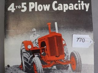 CASE  lA  TRACTORS CATAlOGUE