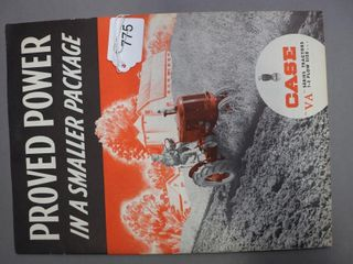 CASE  VA  TRACTORS CATAlOGUE