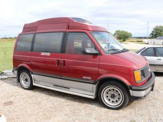 1991 CHEVROlET ASTRO CONVERSION