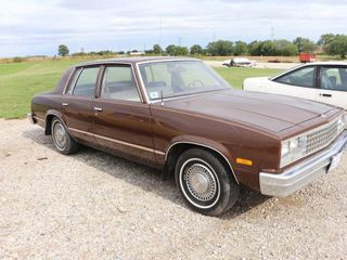 1982 CHEVROlET MAlIBU 4 DOOR 5 DIGIT ODOMETER