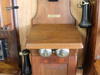 THE NORTHERN ElECTRIC CO ANTIQUE WAll TElEPHONE